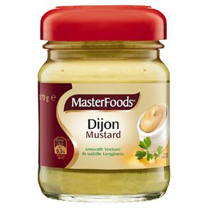 MasterFoods Mustard Dijon 170g