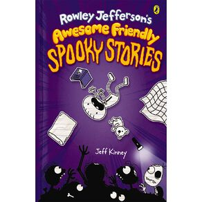 Diary of an Awesome Friendly Kid #3 Spooky Stories by Jeff Kinney