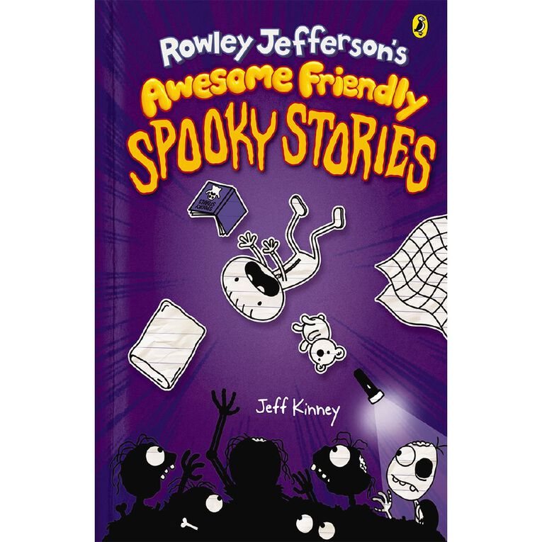 Diary of an Awesome Friendly Kid #3 Spooky Stories by Jeff Kinney, , hi-res