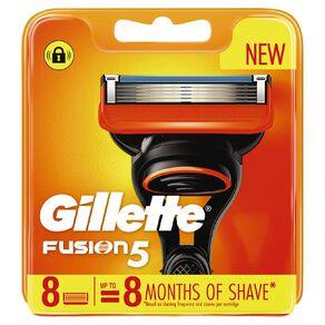 Gillette Fusion5 Razor Blades 8 Pack
