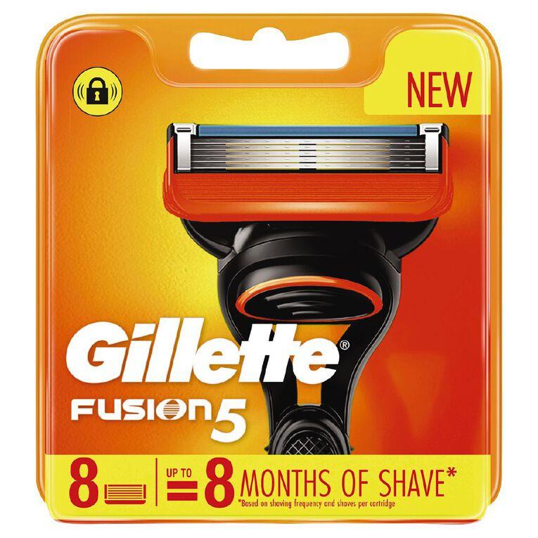 Gillette Fusion5 Razor Blades 8 Pack, , hi-res
