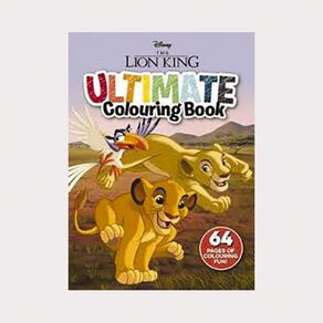 Disney The Lion King Ultimate Colouring Book