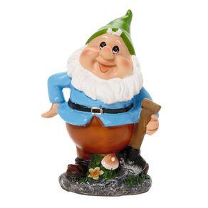 Kiwi Garden Gnome Gardener 9cm Assorted