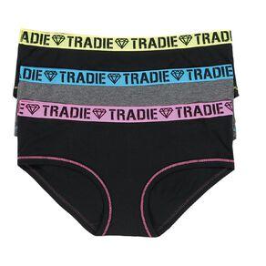Tradie Women's Boyleg Briefs 3 Pack