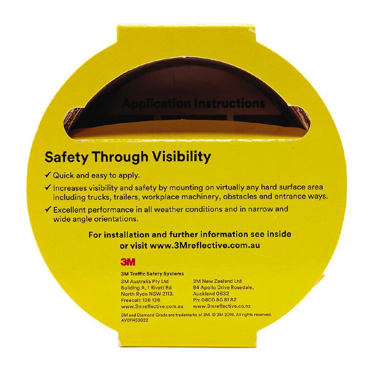 3M 983-71 Reflective Tape 50mm X 3m Yellow, , hi-res