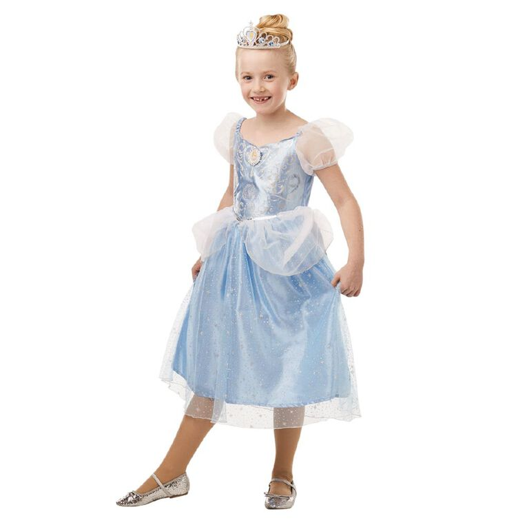 Disney Cinderella Glitter And Sparkle Costume Size 3-5 years, , hi-res