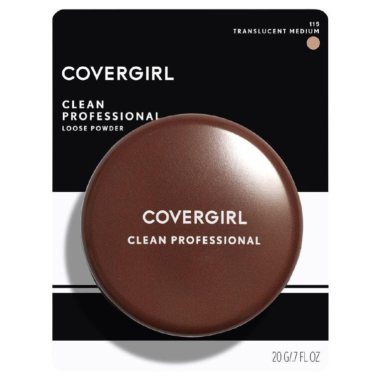 Covergirl Professional Finishing Powder Transparent Medium, , hi-res