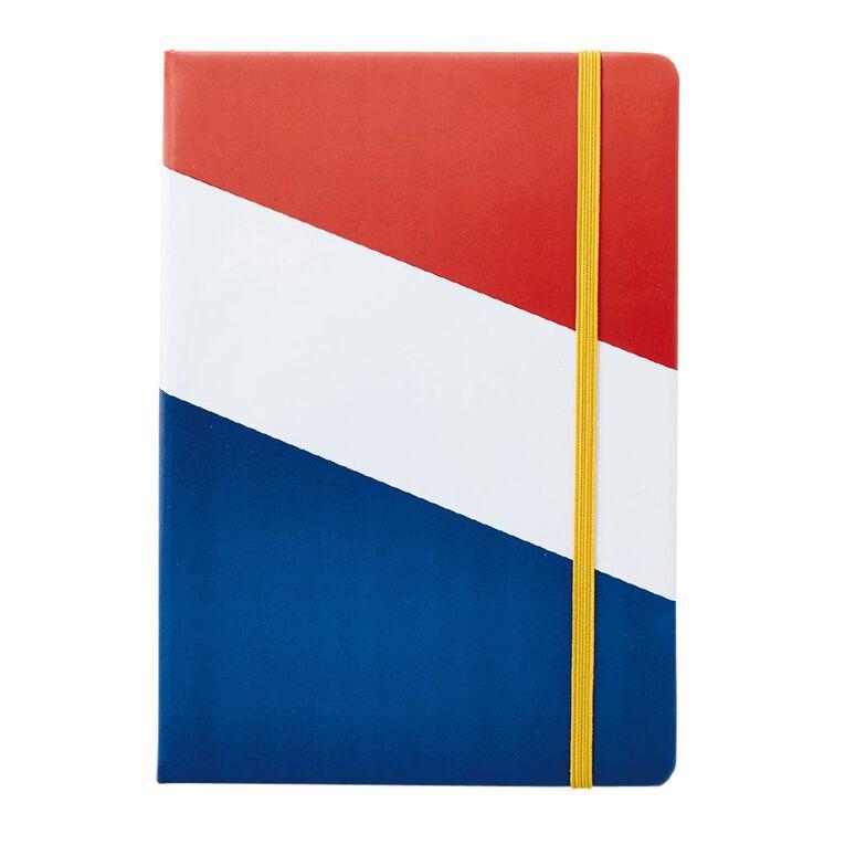 Uniti Geo Notebook PU Hardcover Multi-Coloured A5, , hi-res