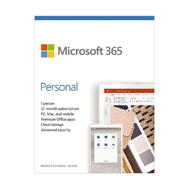 Microsoft 365 Personal, , hi-res image number null