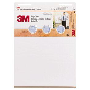 3M Flipchart 635 x 762mm 40 Sheet White