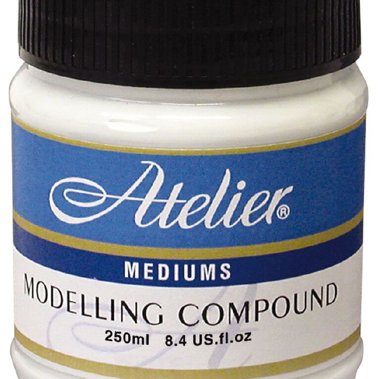 Atelier Modelling Compound 250ml White, , hi-res