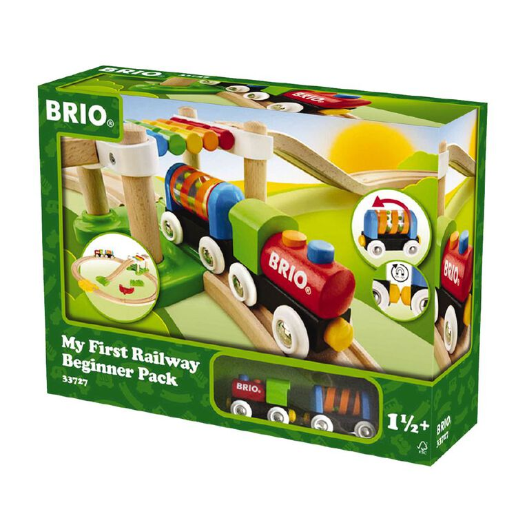 Brio My First Railway Beginner Pack 18 Pieces, , hi-res