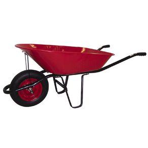 Kiwi Garden Wheelbarrow Red 75L