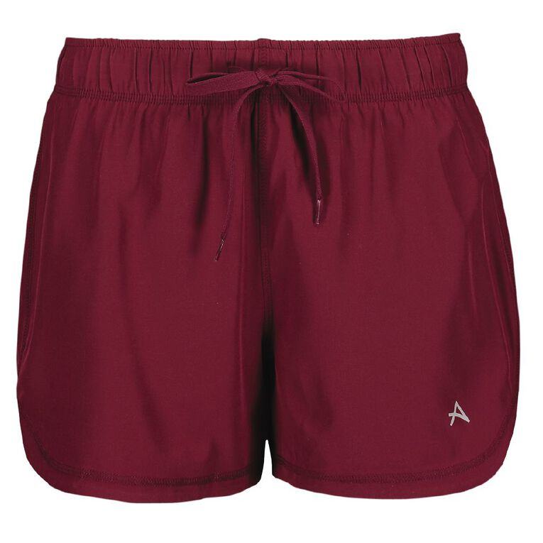 Active Intent Women's 2-in-1 Shorts, Red Dark, hi-res image number null