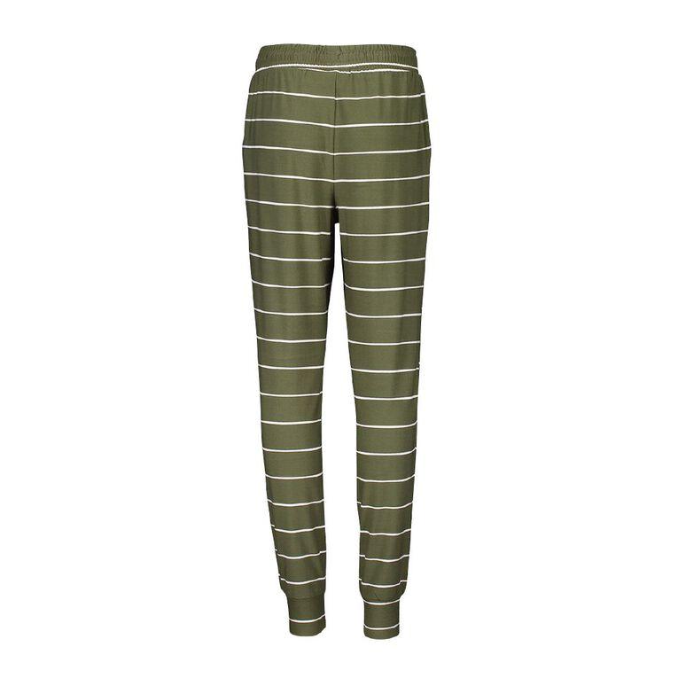 Young Original Soft Touch Harem Pants, Green Dark, hi-res