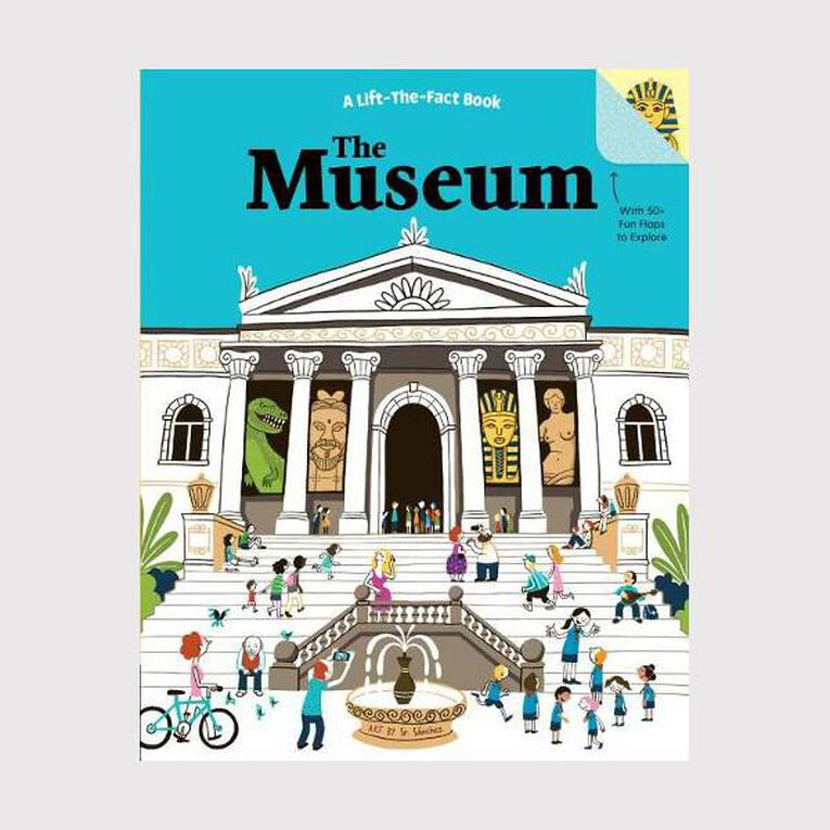 The Museum: A Lift the Fact Book by Tanya Kyle, , hi-res