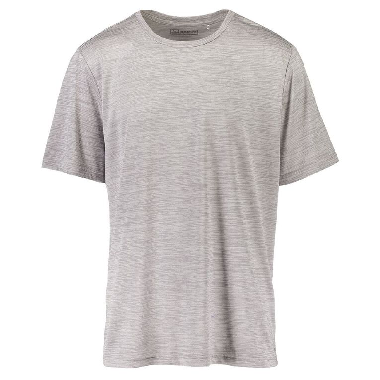 Active Intent Men's Marle Tee, Grey Marle, hi-res image number null