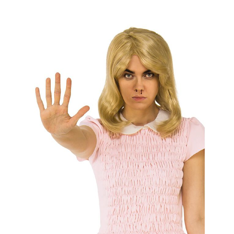 Stranger Things Netflix Eleven Blonde Wig Adult, , hi-res image number null