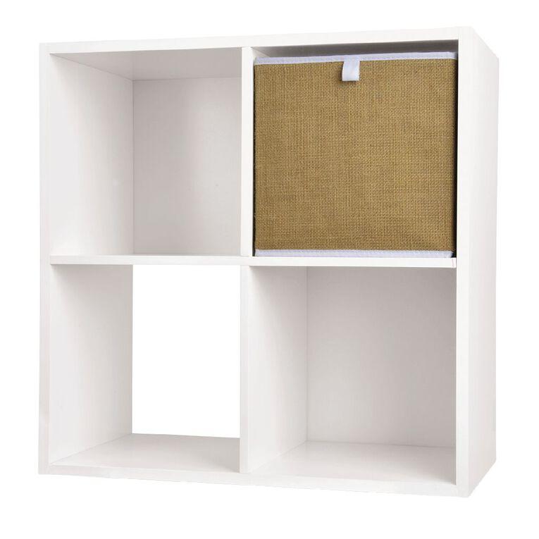 Living & Co Mason Cube Storage Insert Jute, , hi-res