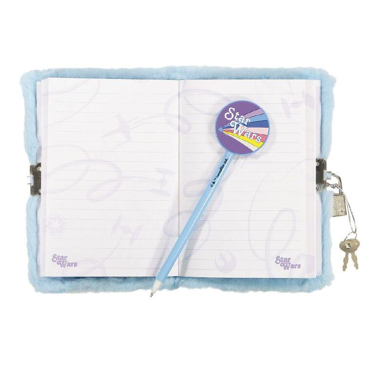 Star Wars Kids Notebook & Pen Blue Light A6, , hi-res