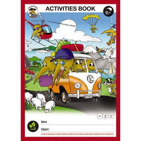 Clever Kiwi Activity Scrapbook
