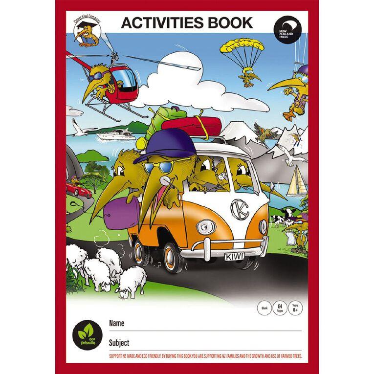 Clever Kiwi Activity Scrapbook, , hi-res