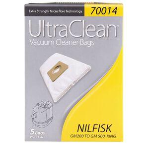 Ultra Clean Vacuum Bags For Nilfisk Gm 200 5 Pack