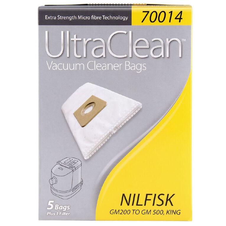 Ultra Clean Vacuum Bags For Nilfisk Gm 200 5 Pack, , hi-res