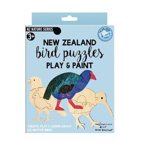 Curious Kiwi Paint and Puzzle Art Set