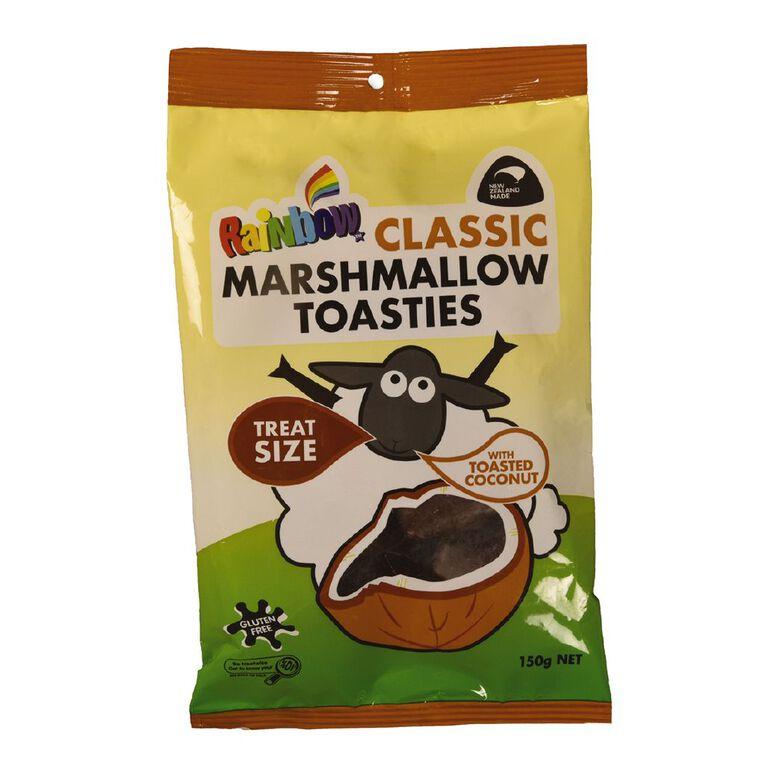 Rainbow Classic Marshmallow Toasties 150g, , hi-res