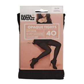 Razzamatazz Women's Opaque Comfort Tights 40 Denier 1 Pack