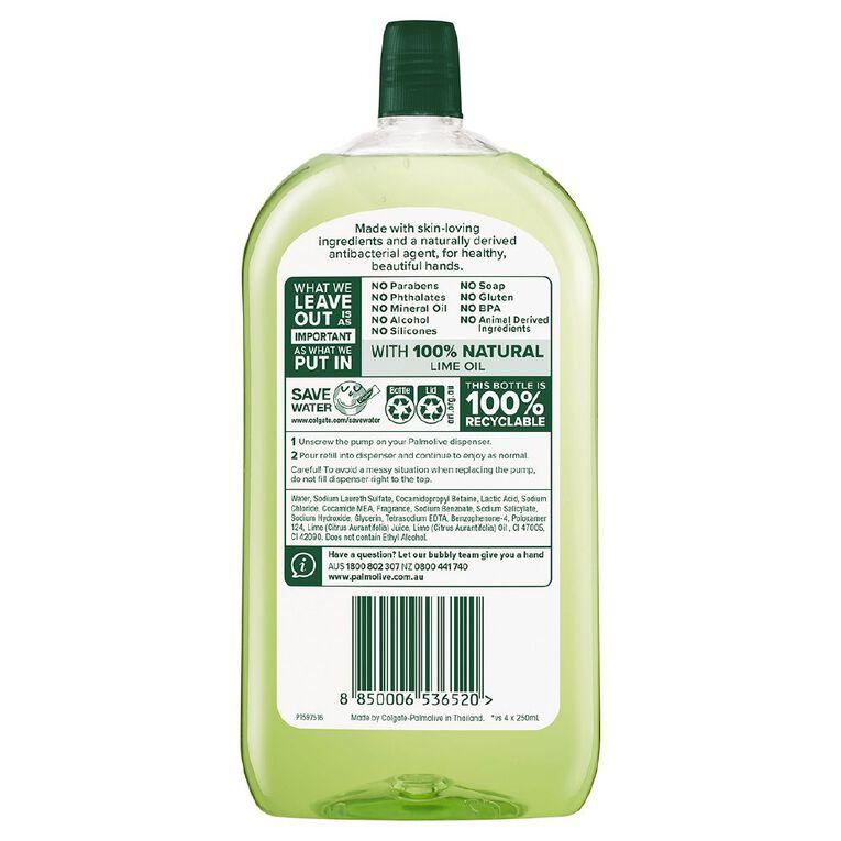 Palmolive Antibacterial Liquid Hand Wash Refill Lime 1L, , hi-res