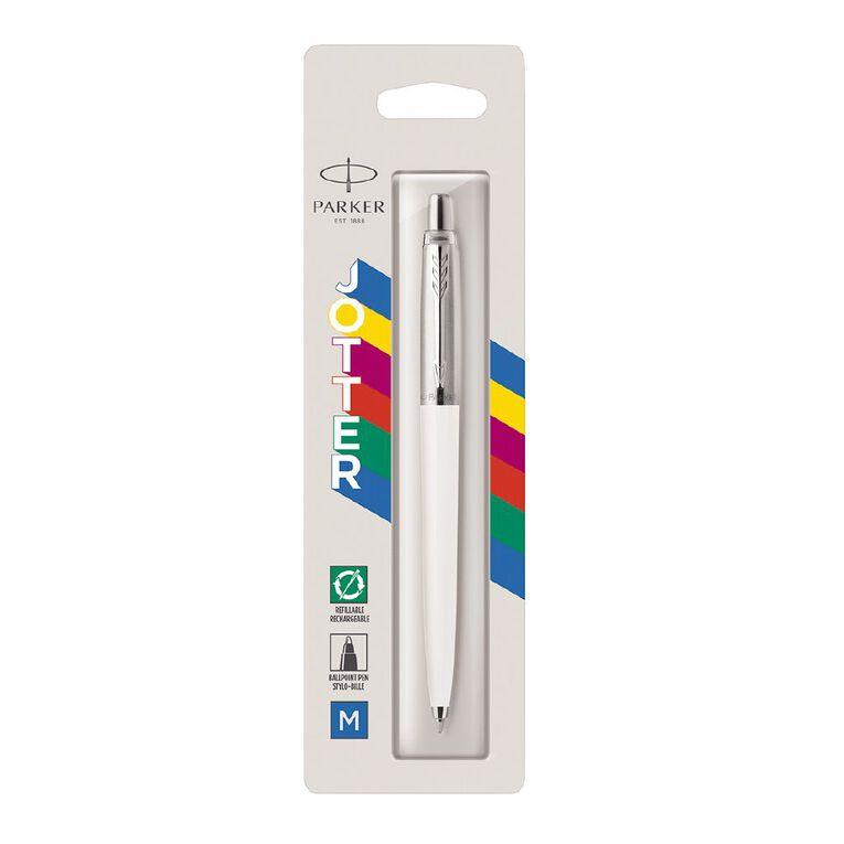 Parker Jotter Classic Ballpoint Pen White, , hi-res