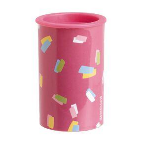 Kookie Bright Sharpener Round Pink Light