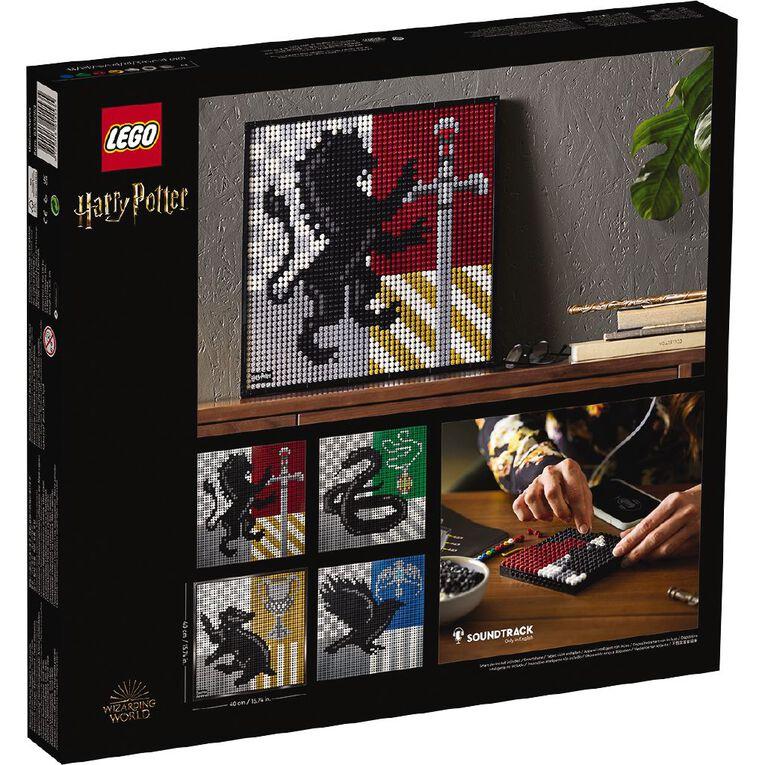 LEGO Art Harry Potter Hogwarts Crests 31201, , hi-res image number null