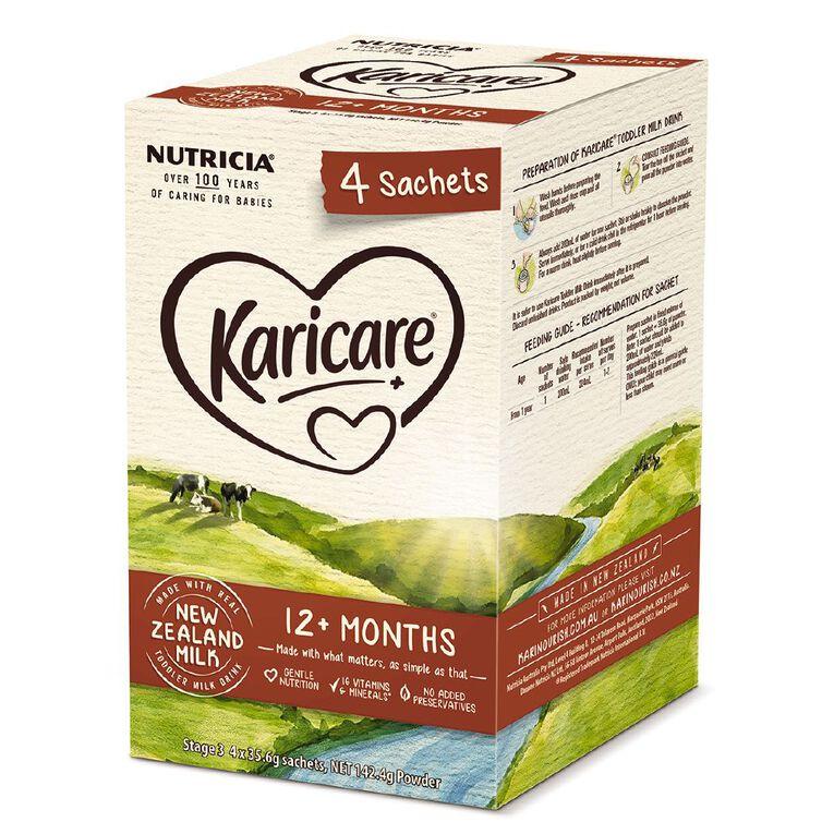 Karicare + 3 Toddler Growing Up Milk (4X4X35.6g), , hi-res