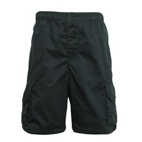 Schooltex Drill Cargo Pocket Shorts