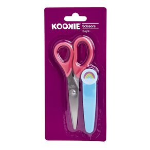 Kookie Bright Scissors Rainbow Pink