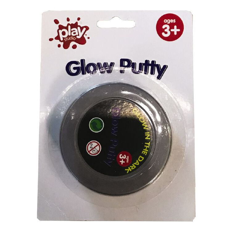 Play Studio Glow in the Dark Putty, , hi-res