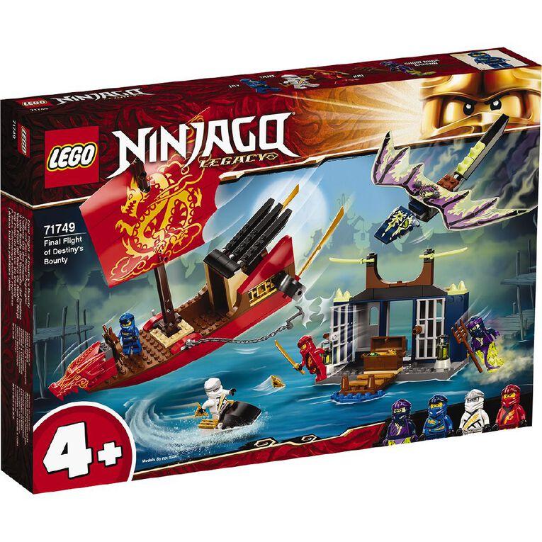 LEGO Ninjago Final Flight of Destiny's Bounty 71749, , hi-res
