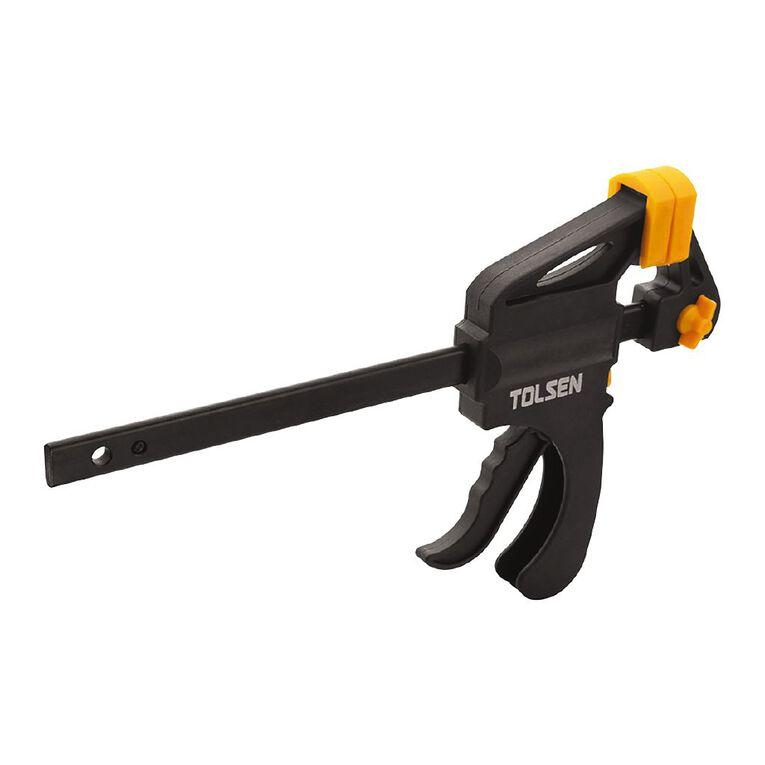 Tolsen Quick Ratchet Bar Clamp 150mm, , hi-res