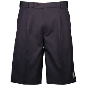 Schooltex Onewhero Area School Polyester Wool Shorts with Embroidery