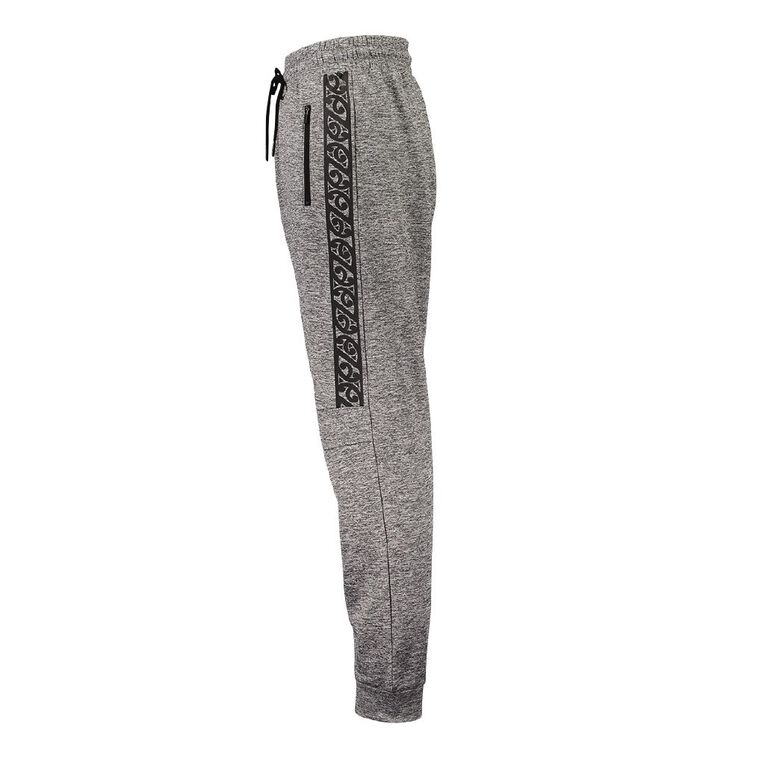Active Intent Boys' Printed Side Pants, Grey Mid, hi-res