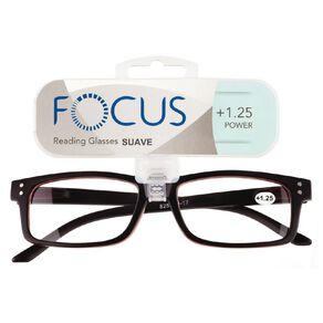 Focus Reading Glasses Men's Suave Power 1.25