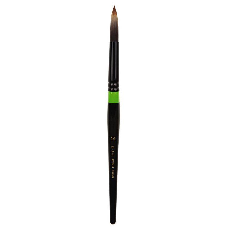 DAS Brush Manglon Blended Synthetic Fibre Round #14, , hi-res