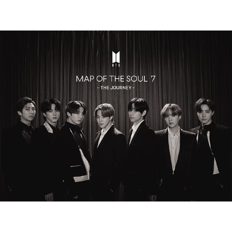 Map Of The Soul 7 The Journey Ltd C CD/Book by BTS 1Disc, , hi-res image number null