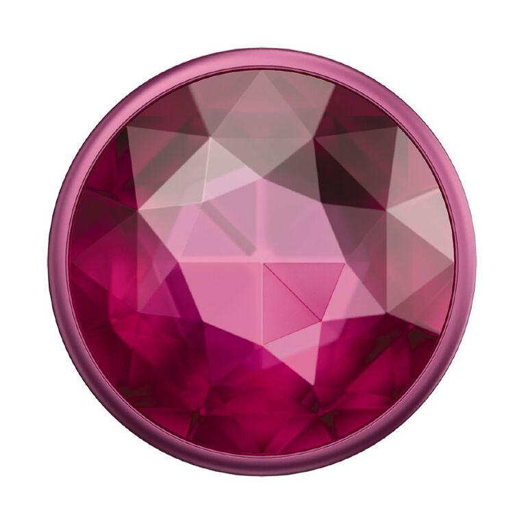 Popsockets Popgrip Premium Disco Crystal Plum Berry, , hi-res