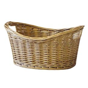 Living & Co Gift Basket with Handles Oval Natural