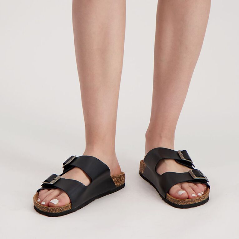 H&H Recife Sandals, Black, hi-res