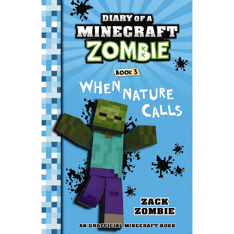 Minecraft Zombie #3 When Nature Calls by Zack Zombie, , hi-res